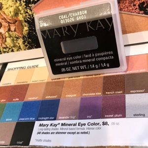 NEW Marykay mineral eye color, Coal